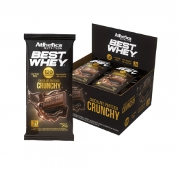 BEST WHEY CHOCOLATE PROTEICO LACTOSE FREE CRUNCHY (DISPLAY 12 UNIDADES)